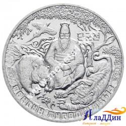 Монета 100 тенге. Легенда о Тангуне. 2016 год