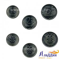 Набор монет 2010 года СПМД