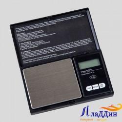 Карманные весы до 500 грамм (DIGITAL SCALE). Черные