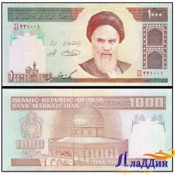Банкнота 1000 риалов Иран