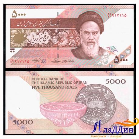 Банкнота 5000 риалов Иран