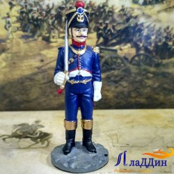 Офицер гренадерской роты линейного пехотного полка в походной форме