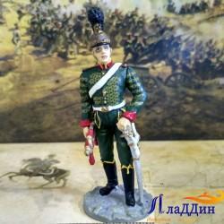 Трубач Шевалежерского полка в парадной форме