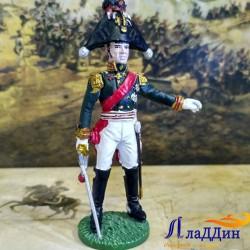 Сәфәр формасында пехота генералы
