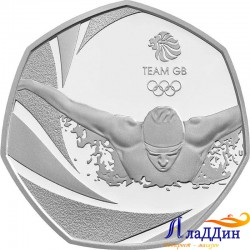 50 пенсов. XXXI летние Олимпийские Игры, Рио-де-Жанейро. 2016 год
