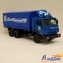 Коллекционная модель Камаз 53212 Совтрансавто. Синий