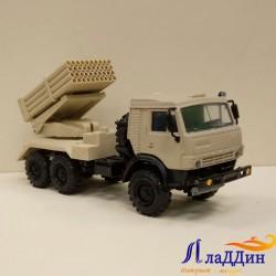 Коллекционная модель Камаз 5350 ГРАД. Песочный
