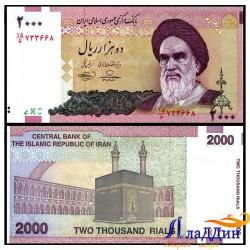 Банкнота Иран 2000 реалов
