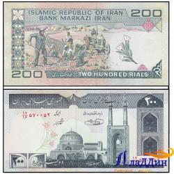 Банкнота Иран 200 риалов