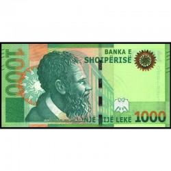 Банкнота 1000 леков Албания. 2019 год