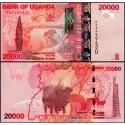 Банкнота 20 000 шиллингов Уганда