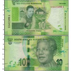 Банкнота 10 ренд Южно-Африканская Республика. 2018 год