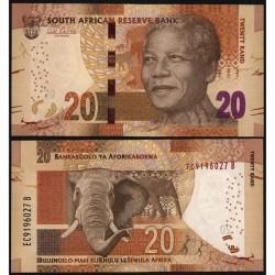 Банкнота 20 ренд Южно-Африканская Республика.