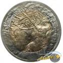 Монета 1 лира Олень