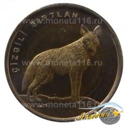 Монета 1 лира Гиена