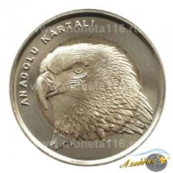 Монета 1 лира Орел