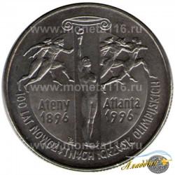 Заманча Олимпия уеннарына 100 ел 2 злот тәңкәсе