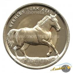 Монета 1 лира Лошадь