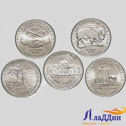 """Набор монет США """"200 лет освоения дикого запада"""""""