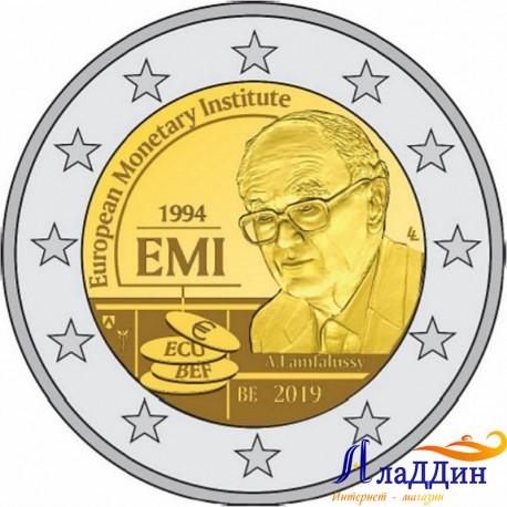 2 евро. 25-летие Европейского валютного института (EMI). 2019 год