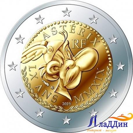 2 евро. 60 лет Астериксу