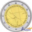 2 евро. 600-летие открытия острова Мадейра