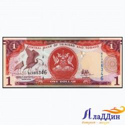 Тринидад һәм Тобаго 1 доллар кәгазь акчасы