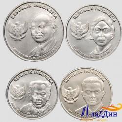Набор монет Индонезии. Личности. 2016 год