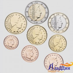 Набор евро монет Люксембург