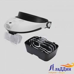Лупа очки MG81001-G