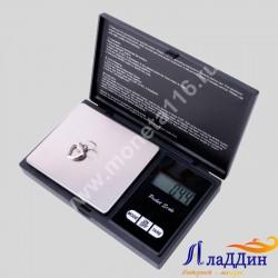 Карманные весы до 200 грамм (черные)
