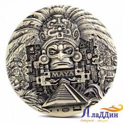 Монета пророчества Майя. Ремесло старых культур.