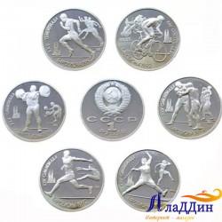 Набор монет XXV летние Олимпийские игры в Барселоне. КОПИИ