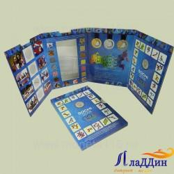 Альбом для монет и банкноты Сочи 2014