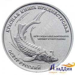 1 рубль. Русский осетр