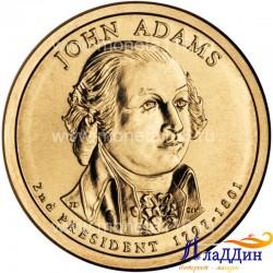 Джон Адамс 2-ой президент США
