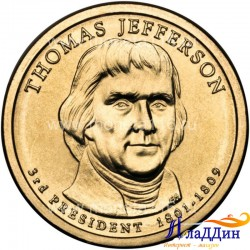 Томас Джефферсон АКШ-ның 3-нче Президенты