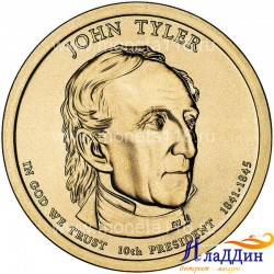 Джон Тайлер 10-ый президент США