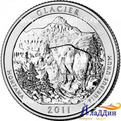 Глейшер национальный парк США