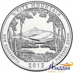 Белые горы национальный лес США