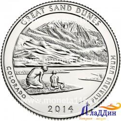 Грейт-Санд-Дьюнс национальный парк США