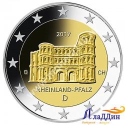 2 евро. Рейнланд-Пфальц