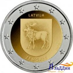 2 евро. Историческая область Земгале