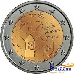 2 евро.150 лет Полиции общественной безопасности