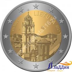 2 евро. Вильнюс - столица культуры и искусства