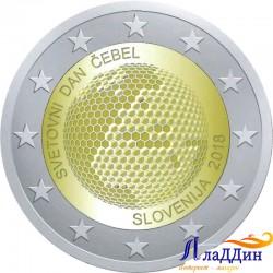 2 евро. Всемирный день пчелы