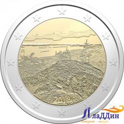 2 евро. Пейзаж Коли