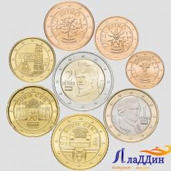 Набор монет евро Австрия