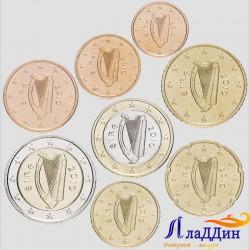 Набор монет евро Ирландия