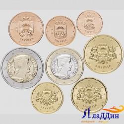 Тәңкәләр җыентыгы евро Латвия